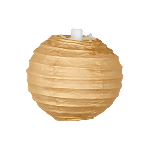 Boule Papier 10cm Sable