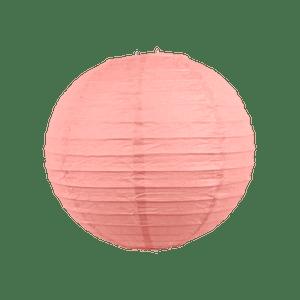 Boule papier 20cm Rose Blush