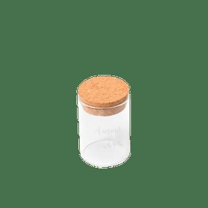 Fiole En Verre design amour Transparent bouchon liège