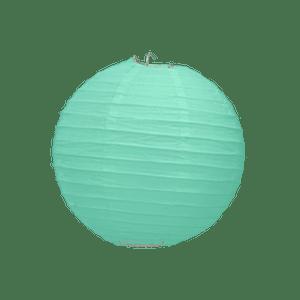 Boule Papier Vert Eau 10 cm x10