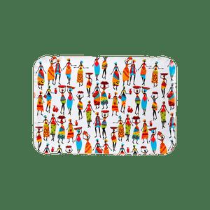 Plateau Carton Wax Multicolore 28 cl x5