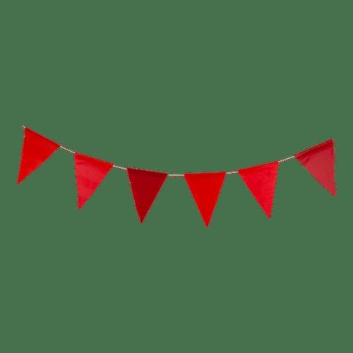 Guirlande papier Rouge