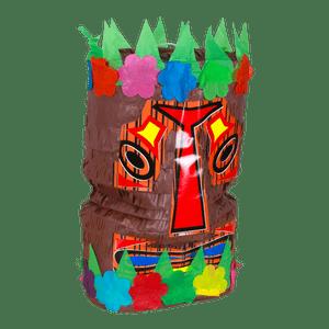 Pinata Tiki Multicolore 40 cm