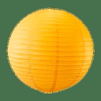 Boule papier 50cm Orange