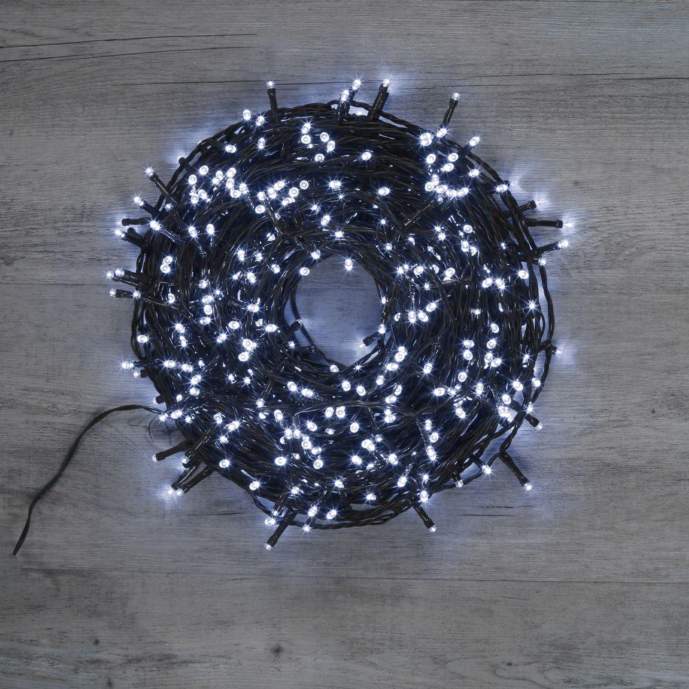 Guirlande Lumineuse 480 LEDs Blanc Froid 36 m