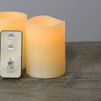 Télécommande pour bougies LED