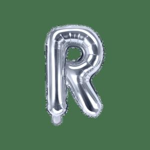 Ballon Lettre R Argent 35 cm