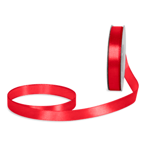 Ruban Satin Rouge 12mm x 25m