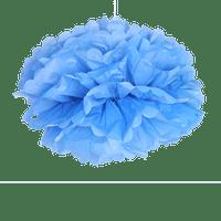 Décoration De Mariage, Fête, Anniversaire Pompons Turquoise 40 Cm (Lot De 6 Pièces)