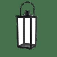 Lanterne en Métal Noir 41cm