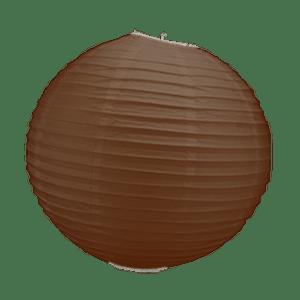 Boule Papier Chocolat 30 cm x3