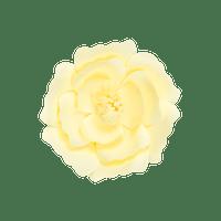 Fleur En Papier Anémone Jaune Pâle 20 cm