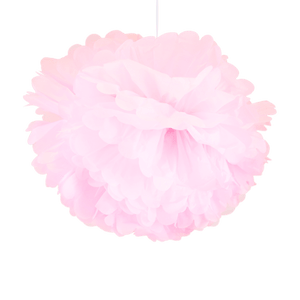 Pompons Rose pâle 50cm x2