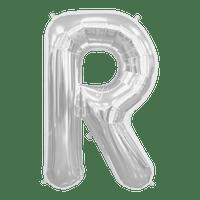 Ballon Lettre R Argent 90 cm