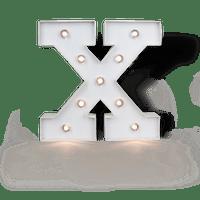Lettre Lumineuse X