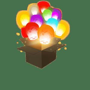 Balloon Multicolores x18