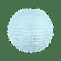 Boule papier 30cm Bleu Ciel