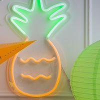 Lampe Néon Ananas