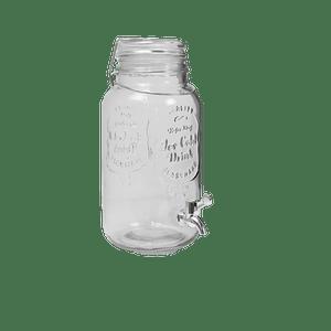 Limonadier avec Arceau en Verre Transparent 4 L