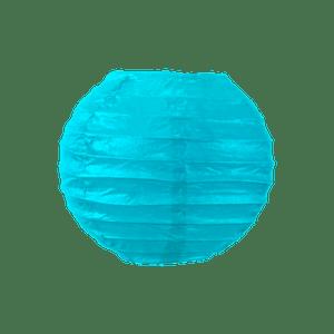 Boule papier 10 cm Turquoise