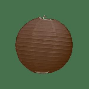 Boule Papier Chocolat 10 cm x10