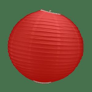 Boule Papier Rouge 30 cm x3
