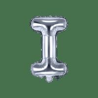 Ballon Lettre I Argent 35 cm