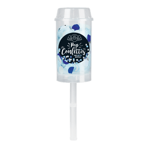 Pop Confettis Bleu