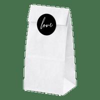 Sachet Kraft Blanc 18 cm x6