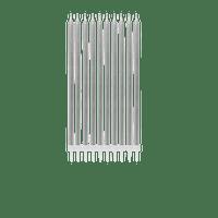 Grande Bougie Anniversaire argent 15 cm x10