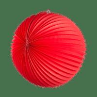 Lampion rond 36 cm Rouge