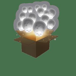 Balloon Gris x50