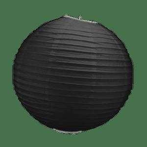 Boule Papier Noir 30 cm x3