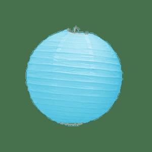 Boule Papier Turquoise 10 cm x10