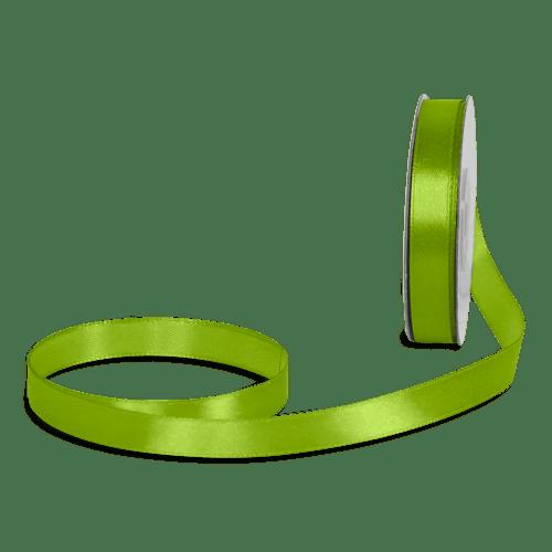 Ruban Satin Vert Anis 12mm x 25m