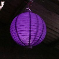 Lampion Led Violet 30 cm