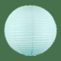 Boule papier 50cm Aqua Marine