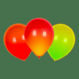 Ballon LED Rouge, Orange et Jaune