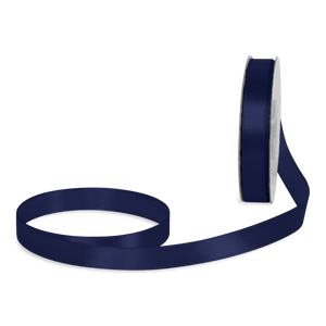 Ruban Satin Bleu Navy 12mm x 25m