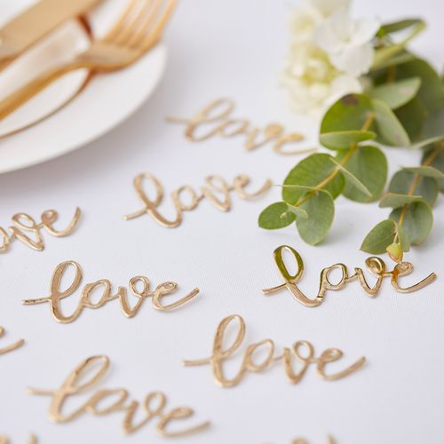 Confettis De Table de table Love Or