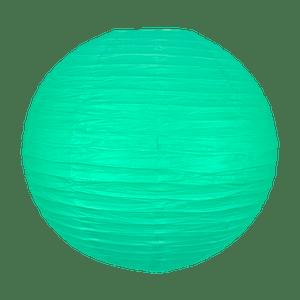 Boule papier 50cm Vert d'eau