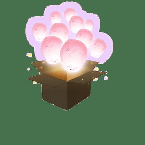 Balloon Rose Pâle x10