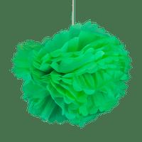 Pompons Vert d'eau 50cm x2