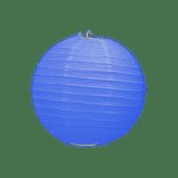 Boule Papier Bleu Roi 10 cm x10
