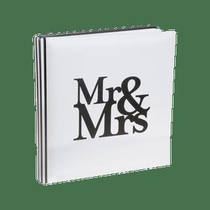 Livre D'Or Mr & Mrs Blanc 24 cm