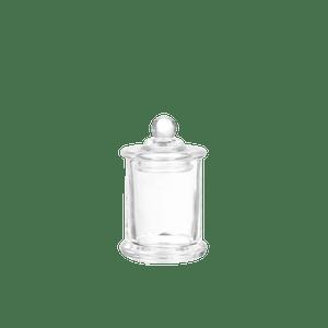 Bonbonnière avec couvercle verre Transparent 5.6 x 9 cm