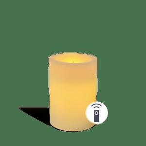 Bougie LED Ivoire 10cm Télécommandable