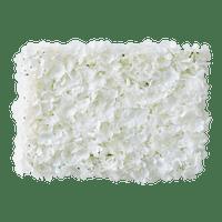 Rideau Fleurs pour Photo booth Tissu Blanc