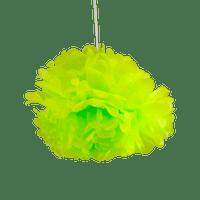 Pompons Vert 30cm x2