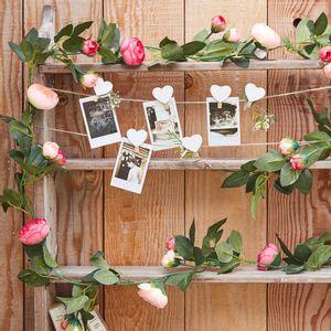 Guirlande de 16 Roses Roses 2M